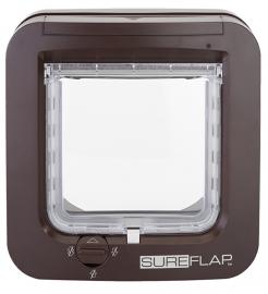 SureFlap microchip kattenluik bruin (via chip)
