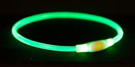USB LedTube Halsband groen