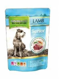8 x Natures Menu Dog Pouch Adult Senior  300 gram.