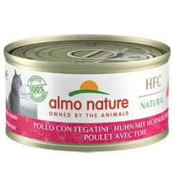 Almo Nature HFC Kip met Lever (10 stuks)