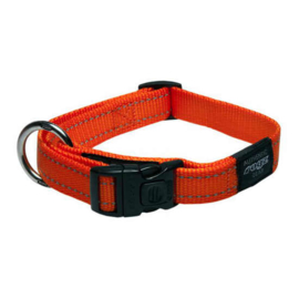 Rogz 4 Dogz Nylon Halsband Oranje