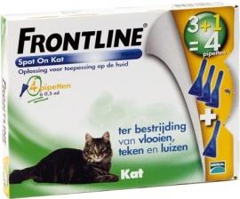 Frontline Kat 3+1 pipet
