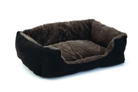 Kattenmandje Baboo zwart / taupe