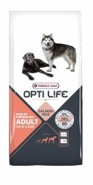 Opti Life Adult Skin Care Medium Maxi 12,5 kg (Hypo Allergeen)