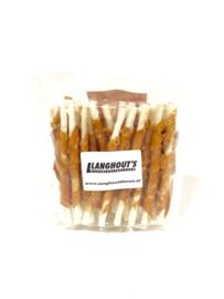 Rawhide kauwsticks met kip small (30 stuks)