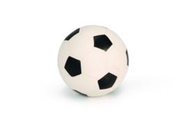 Latex Voetbal Groot zwart/wit