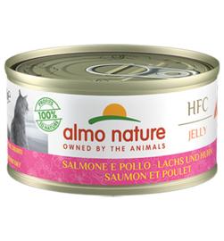 Almo Nature HFC Zalm & Kip (10 stuks)