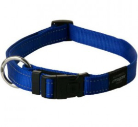 Rogz 4 Dogz Nylon Halsband Blauw