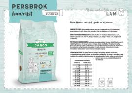 Jarco Classic Persbrok Adult Lam/Rijst 12,5 kg.