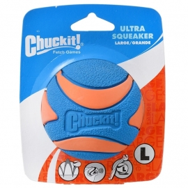 Chuckit ultra squeaker ball large
