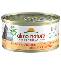 Almo Nature HFC Tonijn met Garnalen (10 stuks)