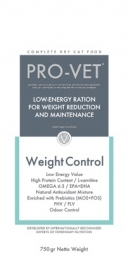Pro-Vet Overweight 750 gram