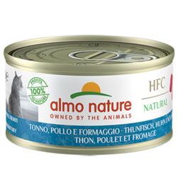 Almo Nature HFC Tonijn met Kip en Kaas (10 stuks)