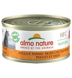 Almo Nature HFC Kip en Tonijn (10 stuks)