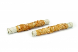 Rawhide kauwrol met kip medium (4 stuks)