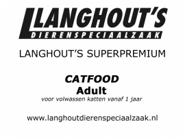 Superpremium Catfood Adult