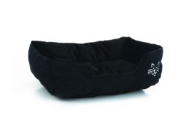 Kattenmandje Baboo zwart