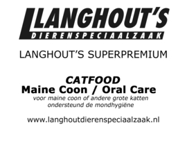 Superpremium Catfood Maine Coon / Oral Care