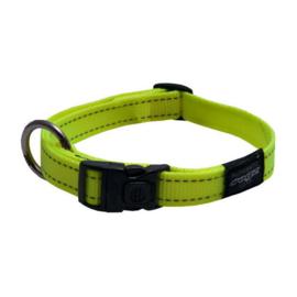 Rogz 4 Dogz Nylon Halsband Geel