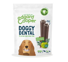 Doggy Dental Appel & Eucalyptus Medium 7 stuks