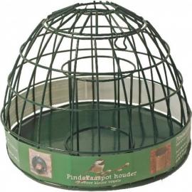 Pindakaaspot houder voor kleine vogels