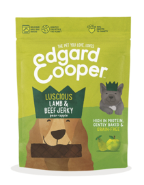 Edgard & Cooper Snacks Jerkey Lamb 150 gram