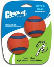 Chuckit ultra ball small (2 stuks)