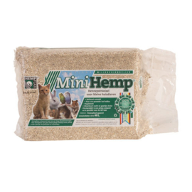 Mini Hemp Hennepstrooisel 48 ltr.