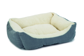 Kattenmandje Mogina blauw