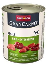 6 x Grancarno Adult Rund & Eend 800 gram