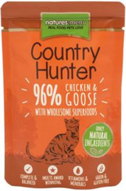 Natures Menu Pouch Country Hunter Kip / Gans 6 x 85 gr.