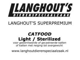 Superpremium Catfood Light / Sterilized