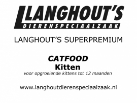 Langhout's Superpremium Catfood