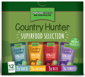 Natures Menu Pouch Country Hunter Multipack