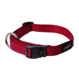 Rogz 4 Dogz Nylon Halsband Rood