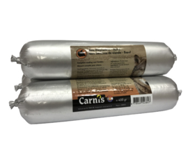 Carnis houdbare worst rund 400 gram.