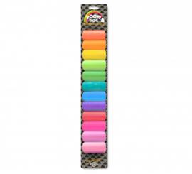 Poepzakjes rainbow voordeelverpakking 12 x 15 st.