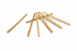 Gedraaide kauwstaafjes 4/6 mm (100 stuks)