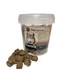 Carnis mini blokjes hert 350 gram.