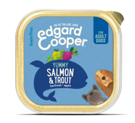 Edgard & Cooper Kuipje Zalm  150 gram.
