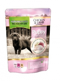 8 x Natures Menu Dog Pouch Puppy 300 gram.