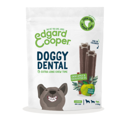 Doggy Dental Appel & Eucalyptus Small 7 stuks