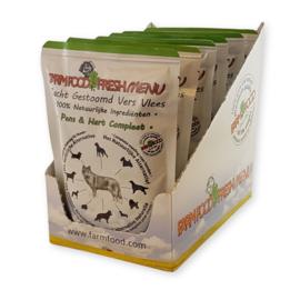 Farm Food fresh menu pens en hart 300 gram.