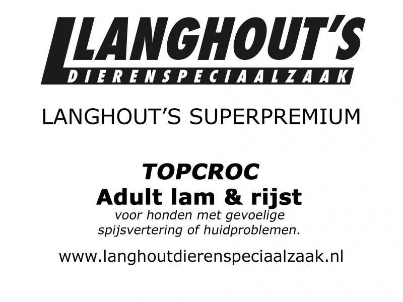 Langhout's Adult Lam & Rijst