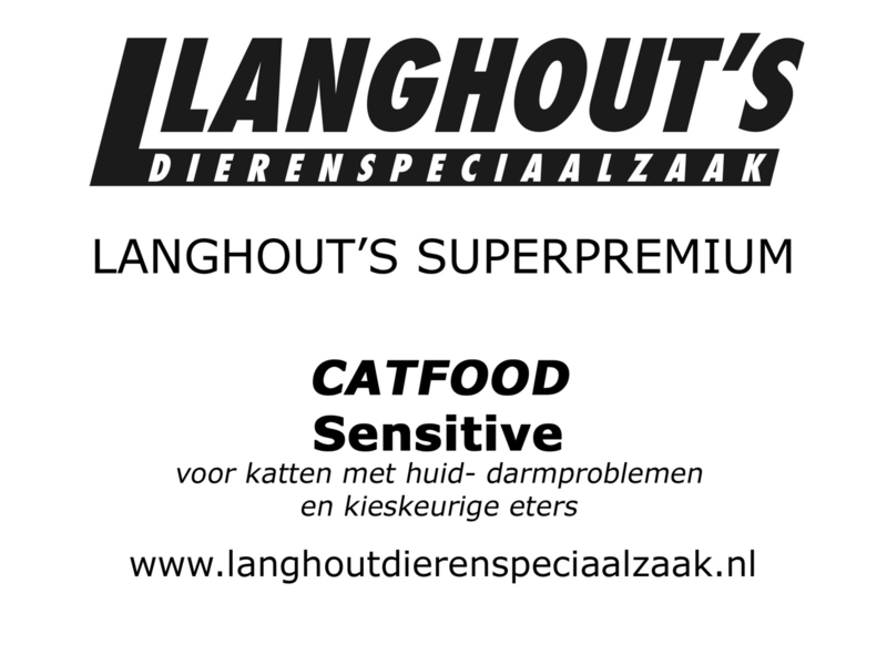 Superpremium Catfood Sensitive