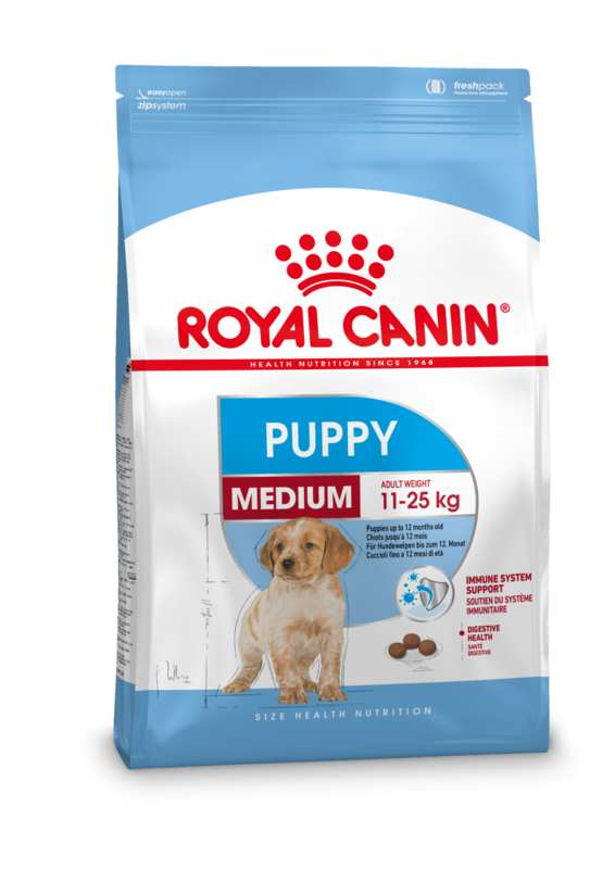 Royal Canin Medium Puppy 4 kg.
