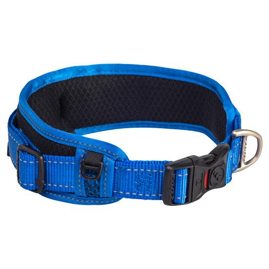 Rogz 4 Dogz Classic Padded Collar Blauw