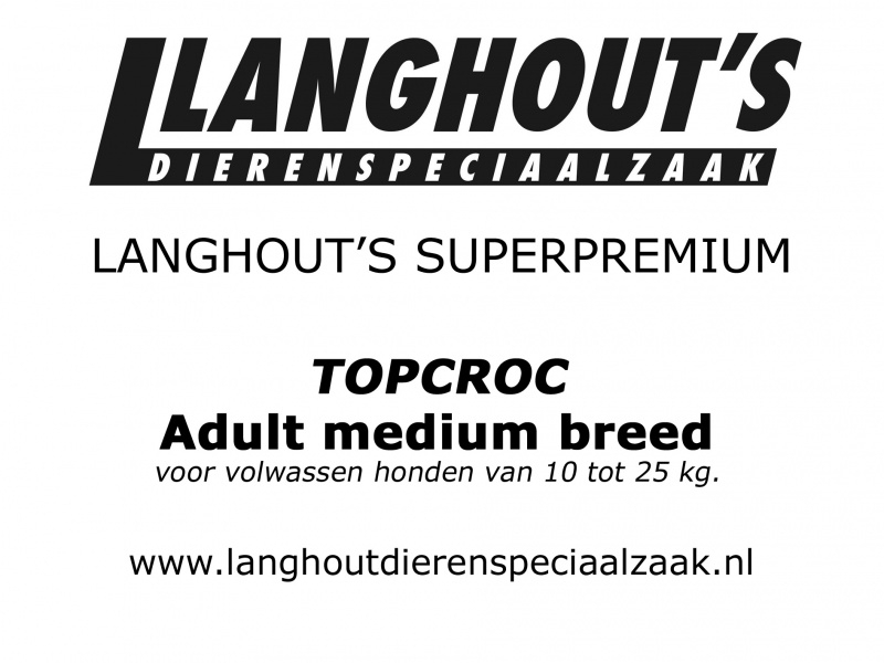 Langhout's Adult Medium Breed