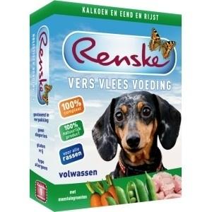 Renske Dog Kalkoen & Eend 395 gram