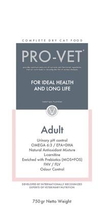 Pro-Vet Adult 750 gram